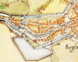 detail kaart Jacob van Deventer