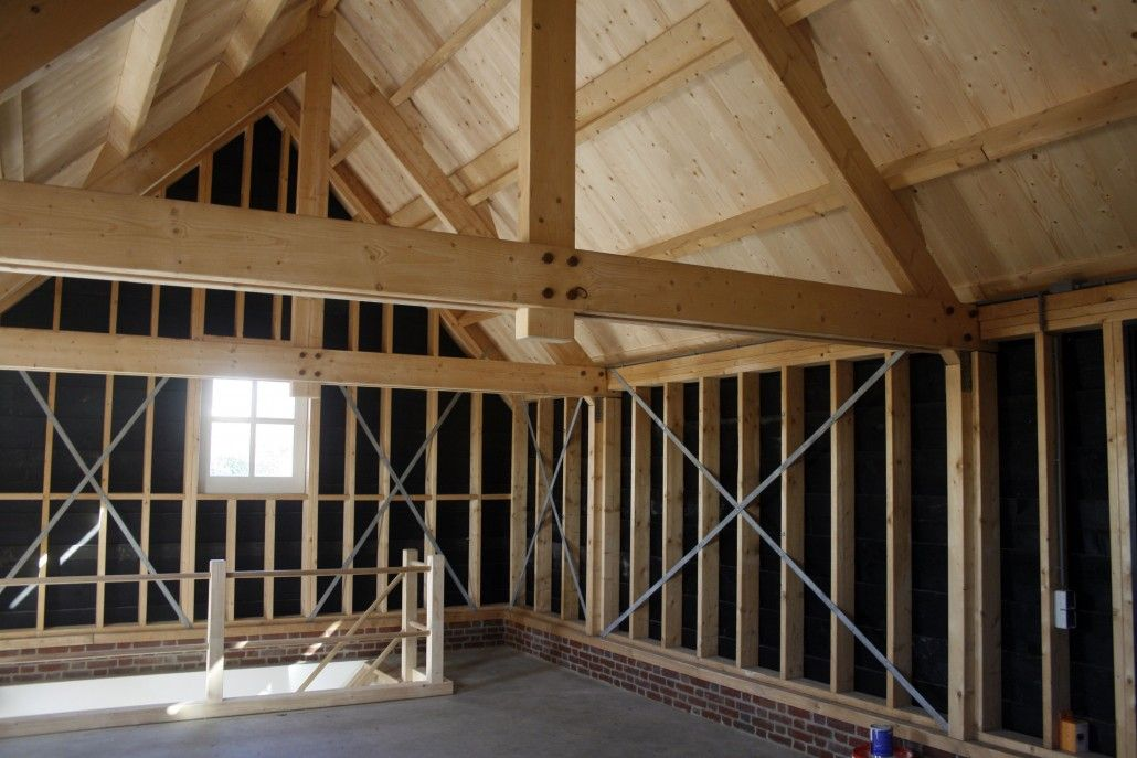 Weyts architecten een nieuwe garage in de stadsedijk for Houtskelet schuur