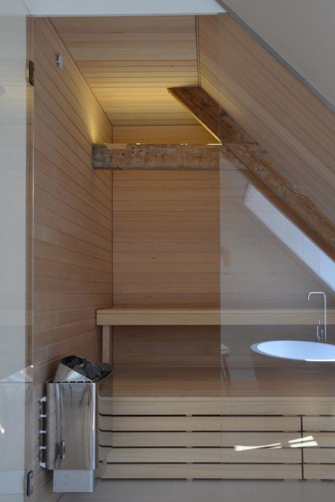 weyts architecten de nieuwe badkamer met sauna in oudemolen