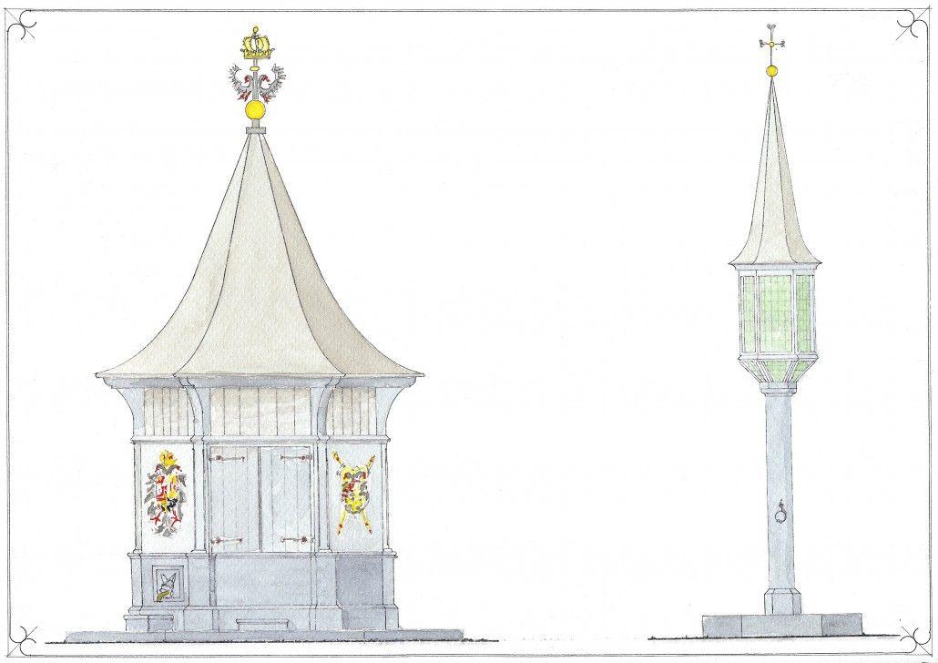 Impressie van de Stadsput in 's Hertogenbosch