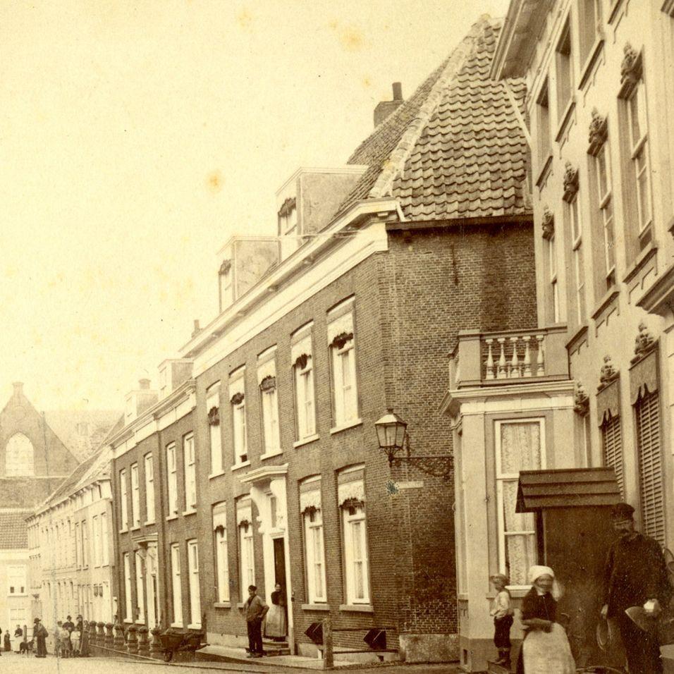 foto Hoogstraat ca. 1890